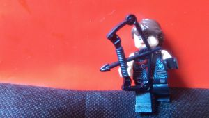 Lego Katniss  by LovelySammy