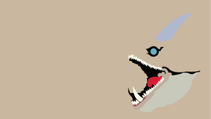 King Dodongo Minimalist Wallpaper by Oldhat104