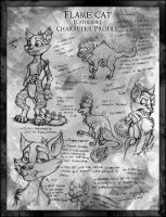Flame Cat - Character Profile by JRTribe