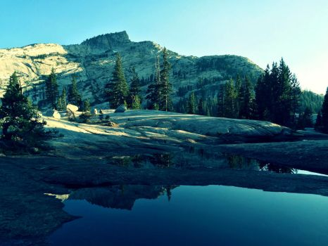 Reflecting at Cathedral Lakes by isosphere