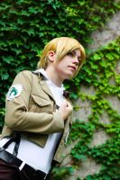 Annie Leonhardt _Attack on Titan_ by grimmiko88