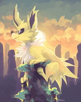 Day 4: Fave Electric Type by yassui