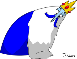 Adventure time Ice King by wilcox6