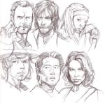 09062014 TWD portraits by guinnessyde