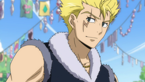 Laxus smiling (for once xD) by AirGearSuchti