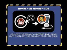 Monkey See Monkey D'oh by Chitonid