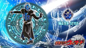 Kamen Rider Wizard Water Style by blakehunter