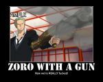 Zoro With A Gun by Neos-Two