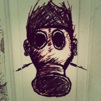 gas mask by StReSSs