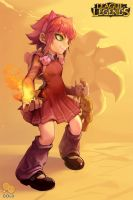 Annie (and Tibbers Shadow) by 2gold