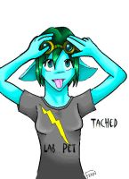 Tached : YO. by kroric