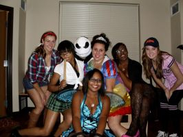 College Halloween by beauty-is-a-beast