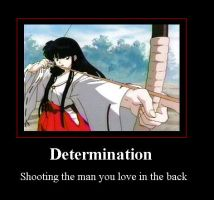 Determination poster by moatswimmer-inugrl