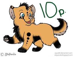 Point Adopt Puppy by Niyra