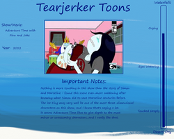 Tearjerker Toons: I Remember You by WritingForNoReason
