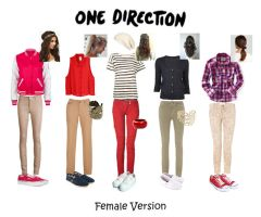 One Direction Polyvore Stuff by sketchypony123