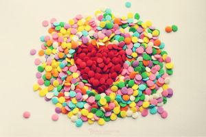 Candy heart by Ur6o