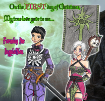 .:*:. 1 Day of Christmas 2015 .:*:. by zoro4me3