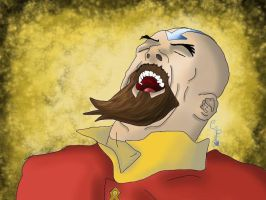 Aww Yeah Tenzin by CammyAmmy