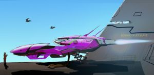 Hovership racer 101 by scifieart10000