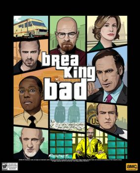 Breaking Bad poster by akyanyme