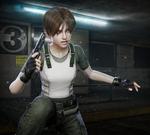Rebecca Chambers by DemonLeon3D