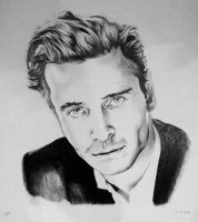 Michael Fassbender by SarahEleanor