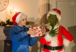 Jack Frost and Grinch by TimmyFrost