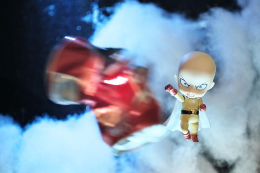 One Punch by BornTewSlow