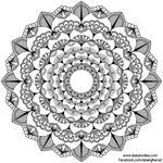 Little Flowers Mandala #2 by WelshPixie