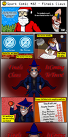 Spark Comic #82 - Finals Claus by SuperSparkplug
