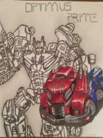 optimus prime by artbaby08