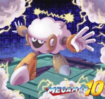 Megaman 10 - Sheepman by ZEBES