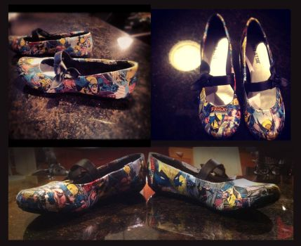 Wolverine Love - On My Shoes by DistantDream