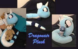 Dragonair Plush by CeltysShadow