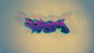Graffiti 3D fiesta #1 (my first work) by fiestQ