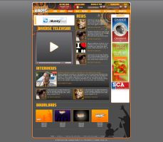 Diverse Radio website by plechi