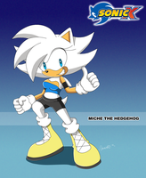 PC Miche The Hedgehog in Sonic X by Domestic-hedgehog