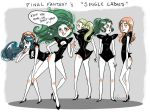Final Fantasy Single Ladies by babochka