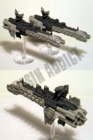 BFG Inquisitorial Blackship by mangozac