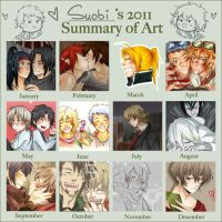 ::2011 ART SUMMARY:: by Suobi-chan
