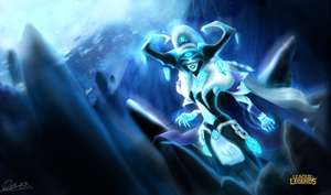 Queen Lissandra by DBR01