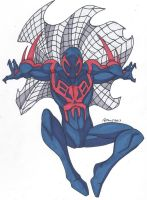 Spidey Series: Spider-Man 2099 by RobertMacQuarrie1