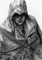 Ezio, Assassin's Creed by LittleDragonZ