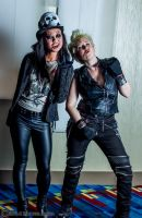 Alice Cooper and Billy Idol 8 by Insane-Pencil