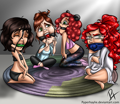 Messy Game of Telephone by pyperhaylie