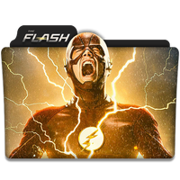 The Flash : TV Series Folder Icon v6 by DYIDDO