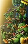 Turtle Power with Color by KYLE-CHANEY