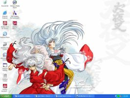 Sesshomaru and Inuyasha by shadowclone