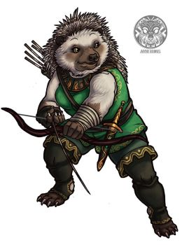 Hedgehog Archer by filhotedeleao